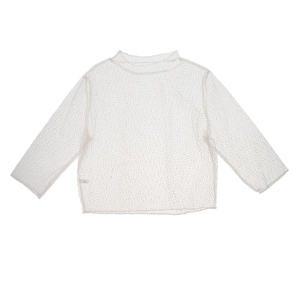 Women Slim Fit Short Sleeve Crop Top Fishnet Mesh See Through T-Shirt Blouse