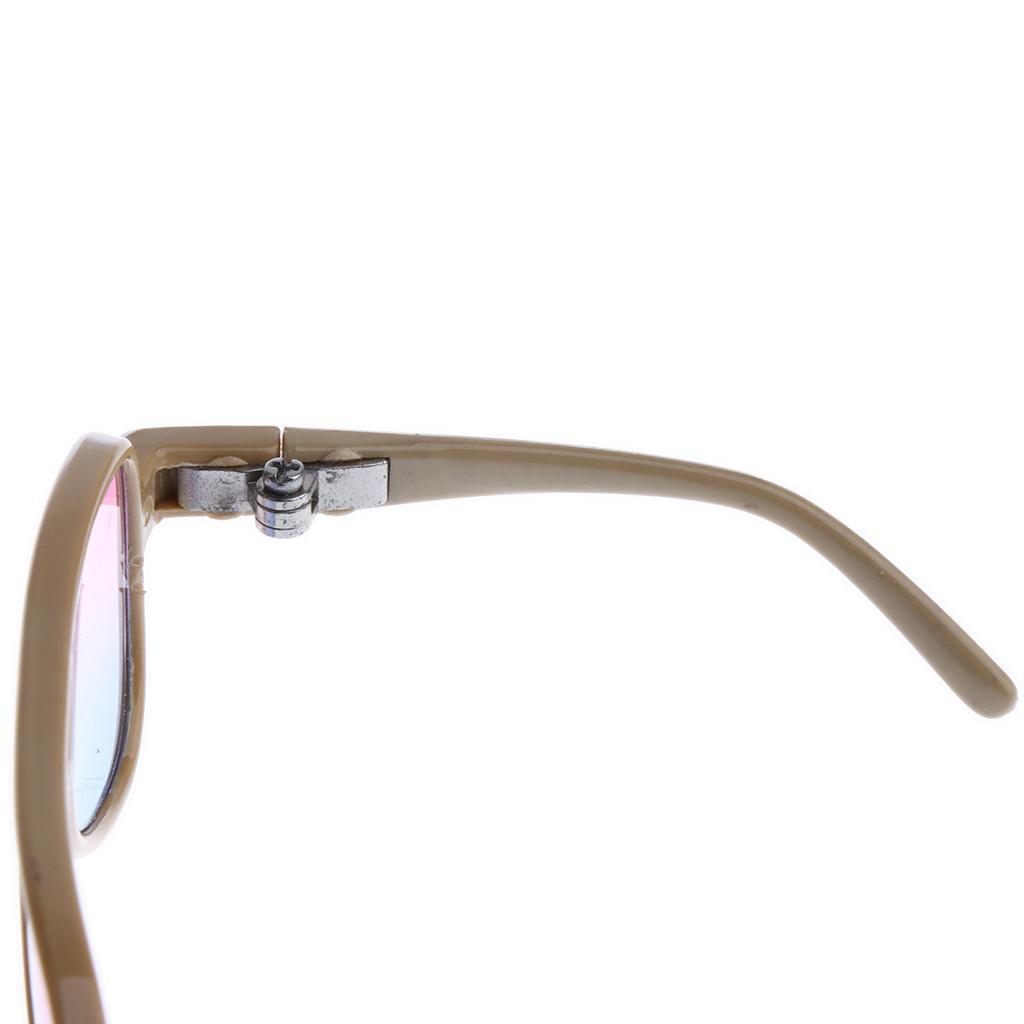 Miniatur Puppenbrille Sonnenbrille Pilotenbrille Für 1//3 Puppen Kleidung Zubehör