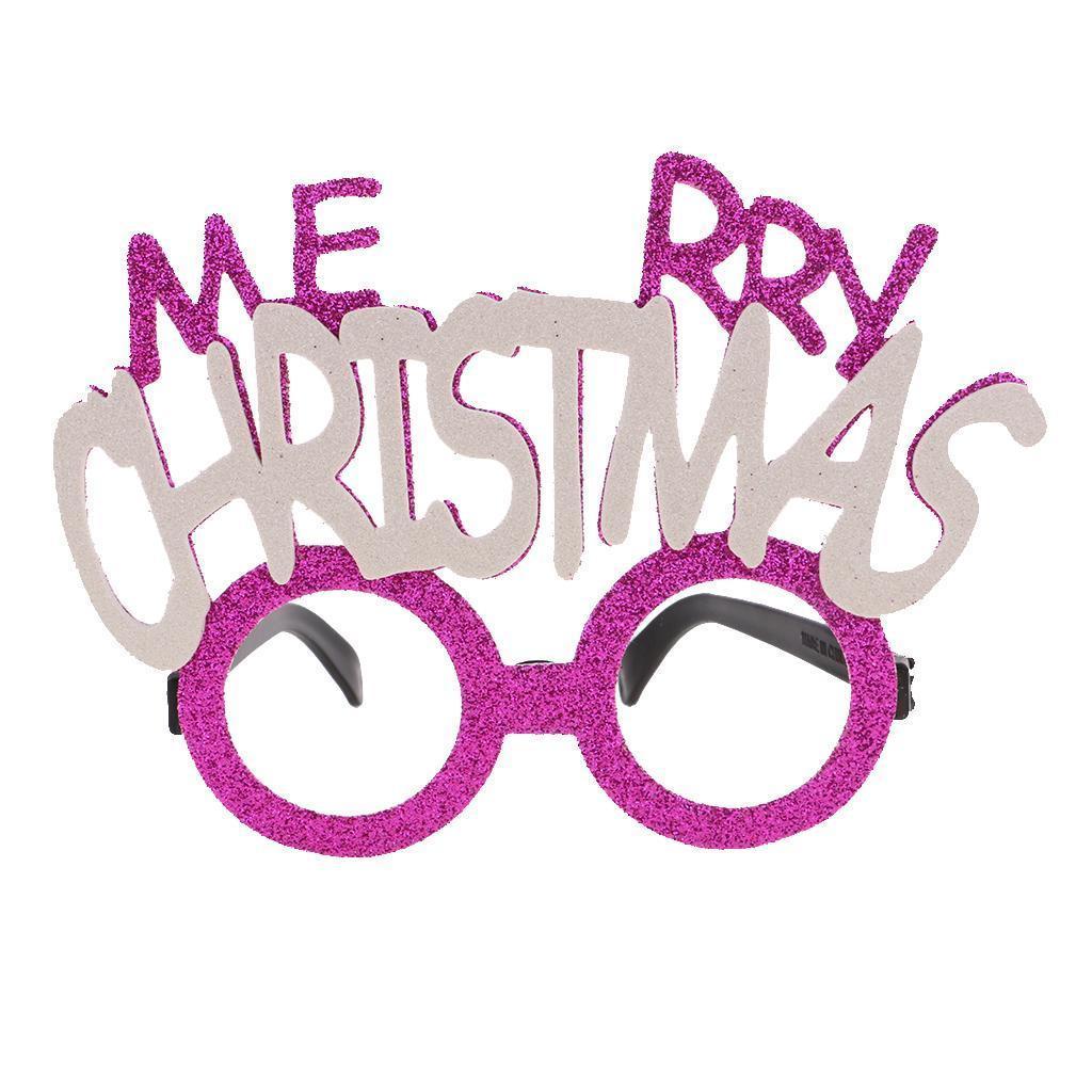 Funny paillettes Lunettes Mariage Anniversaire Noël Nouvel An Fête Cadeau Faveurs