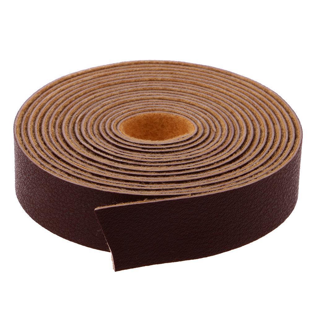 Lederband flach Breite1.5cm Länge 10m Farbe wählbar