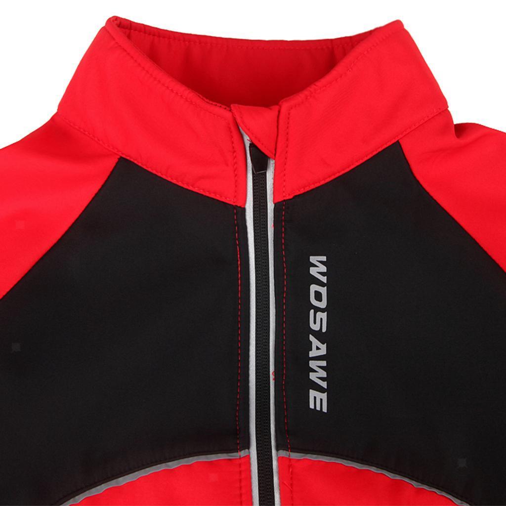 Men Winter Cycling Clothing Bicycle Jersey Sportswear Long Sleeve Bike Tops