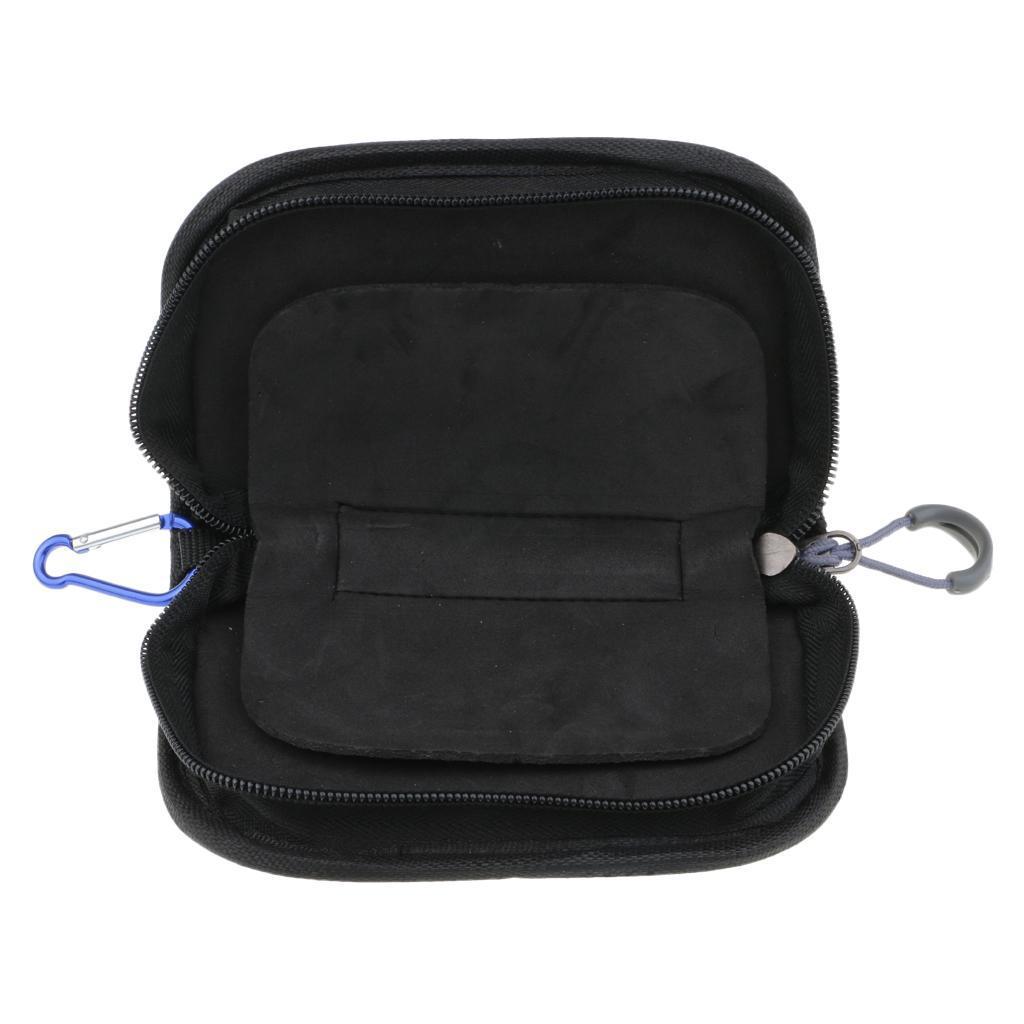 Fishing Spoon Lure Waterproof Tackle Bag Wallet Spinner Baits Storage Case