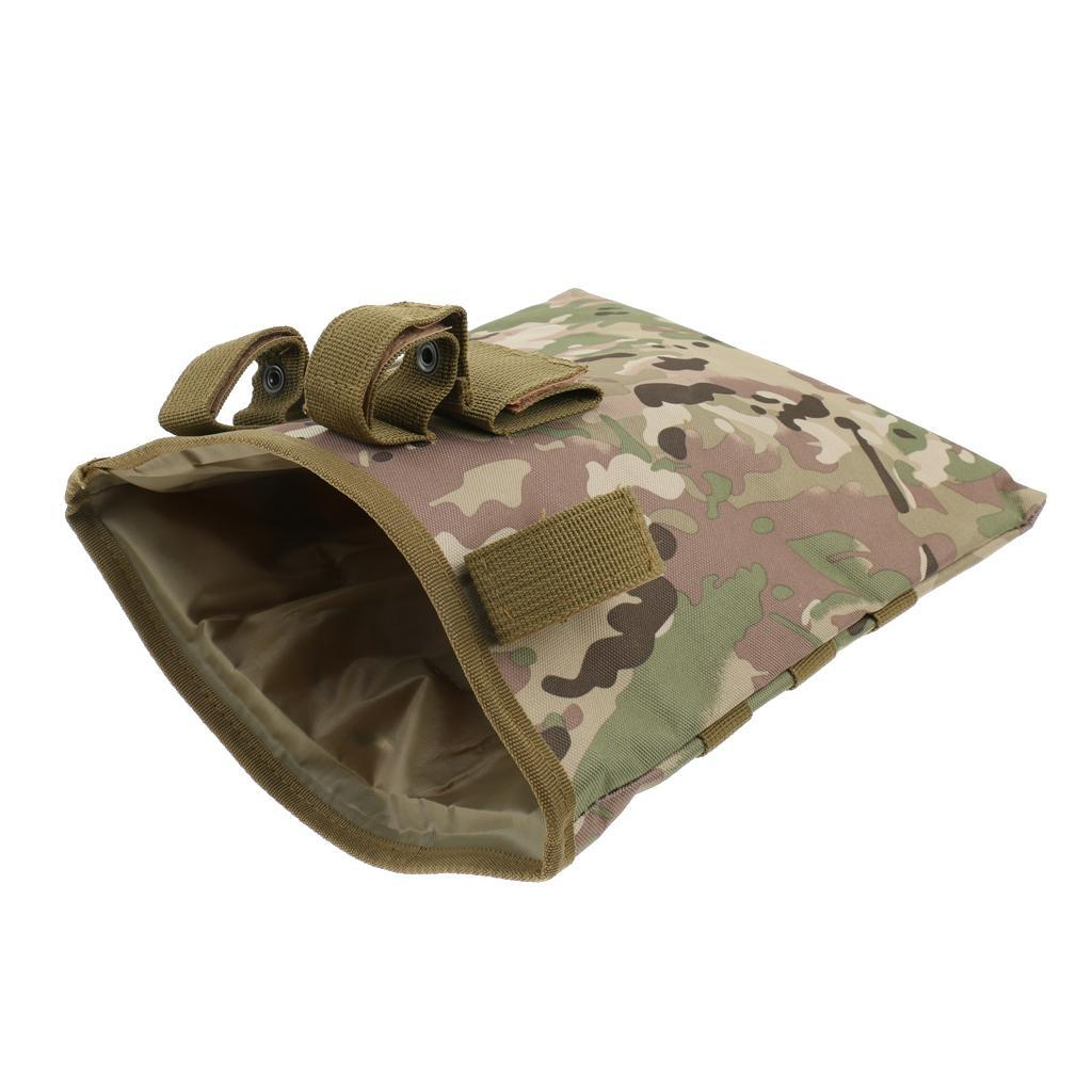 Molle Package Bag Drop Pouch Tactical Storage Bag Outdoors Color Optional