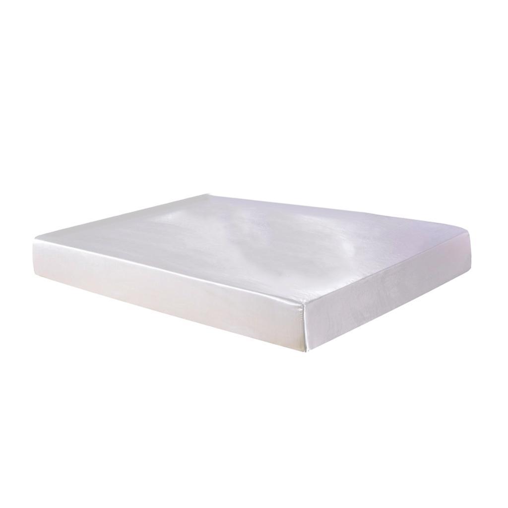 Soft und Weiche Bettlaken Bettlaken Spanbetttuch Spannbettlaken aus Satin