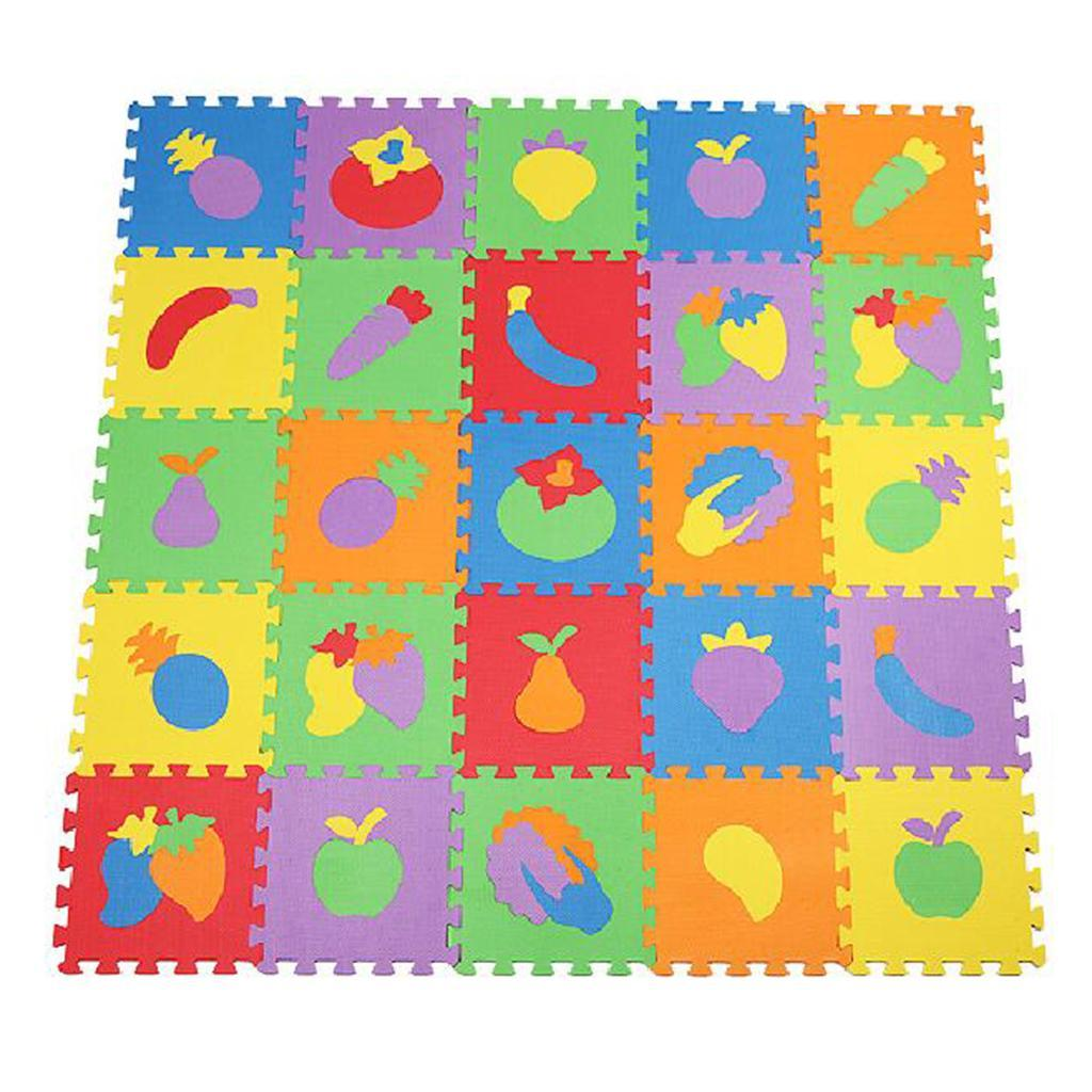 10x PE Foam  Mats Floor Baby Kids Play Puzzle Gym Exercise Mat