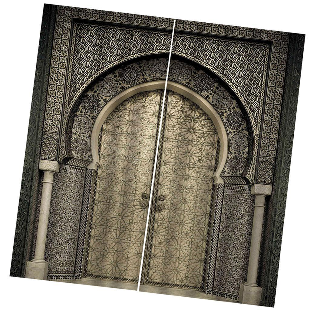 2 Panels 3D Printed Window Curtains Drapes for Living Room Bedroom 28x65inch