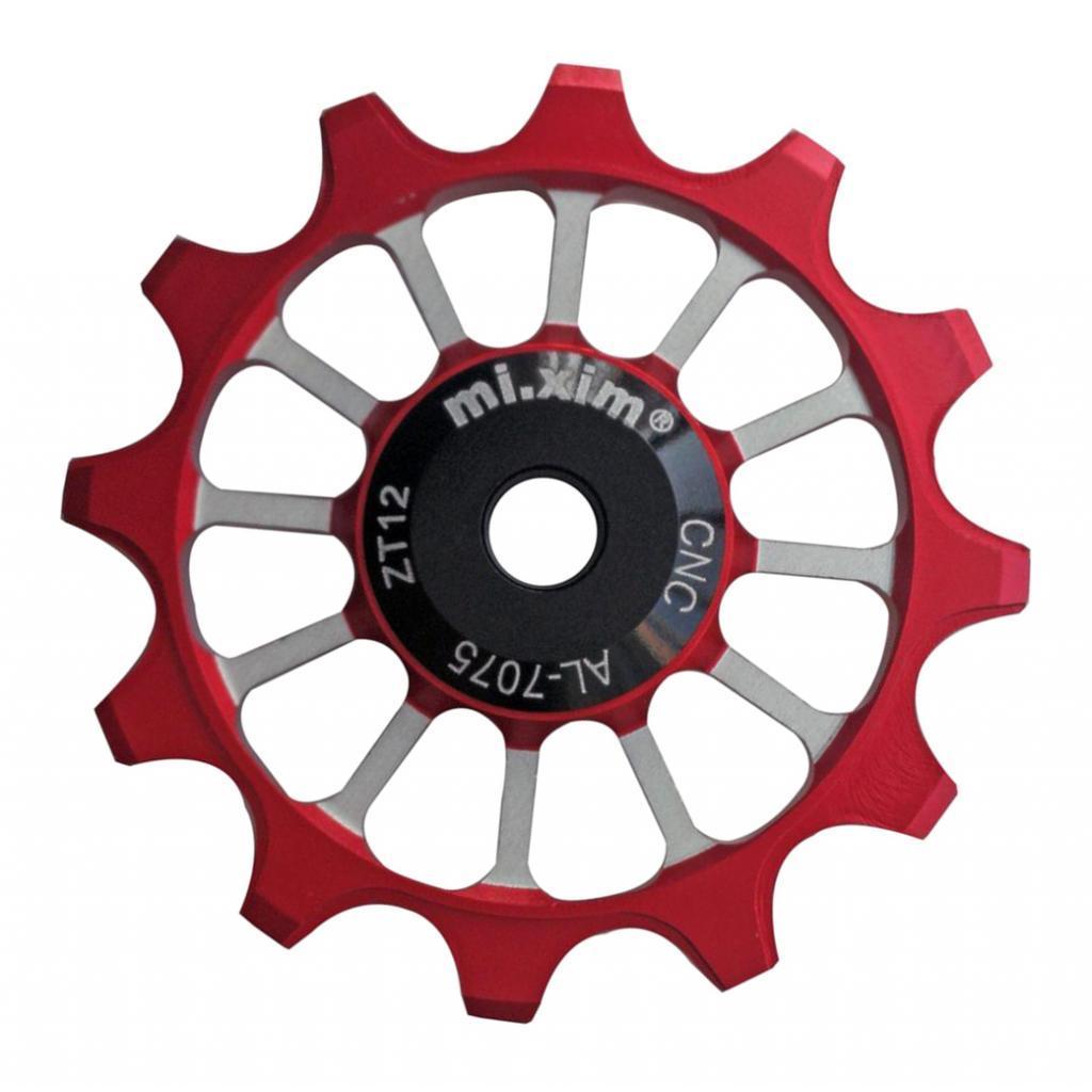 12T Bicycle Rear Derailleur Pulley Guide Ceramic Jockey Wheel  7-11 Speed