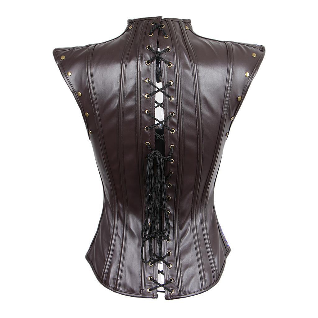 Baoblaze Womens Gothic Push Up Shapewear Top Overbust Corset Bustier Cincher