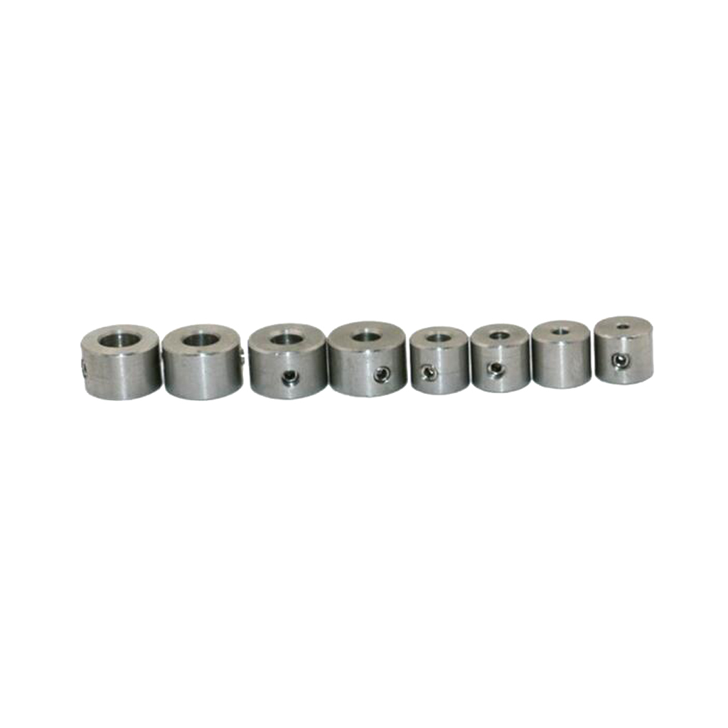 Drill Bits Depth Stop Ring Positioner Collars Locator Woodworking Tool
