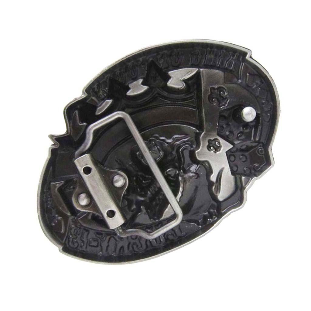 Retro Cowboy Cowgirl West Style 20 Designs 3D Pattern Belt Buckle for 36-39mm