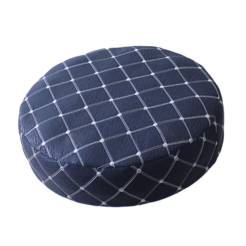 15-16/'/' 40cm Elastic Bar Stool Covers Round Chair Seat Cushion Slip Covers