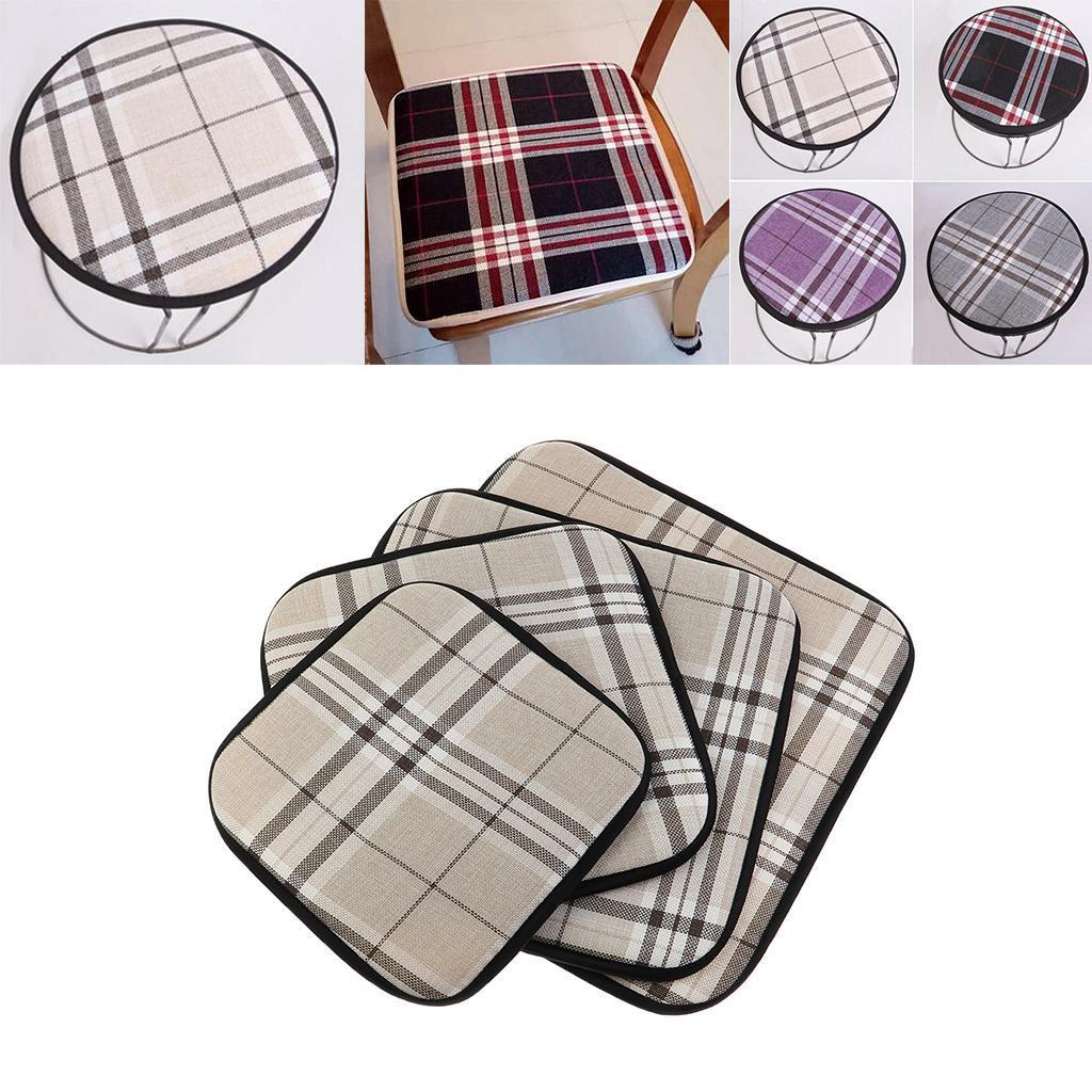 Anti-Slip Chair Pads for Dining Chairs Chair Seat Cushion for Kitchen Chair