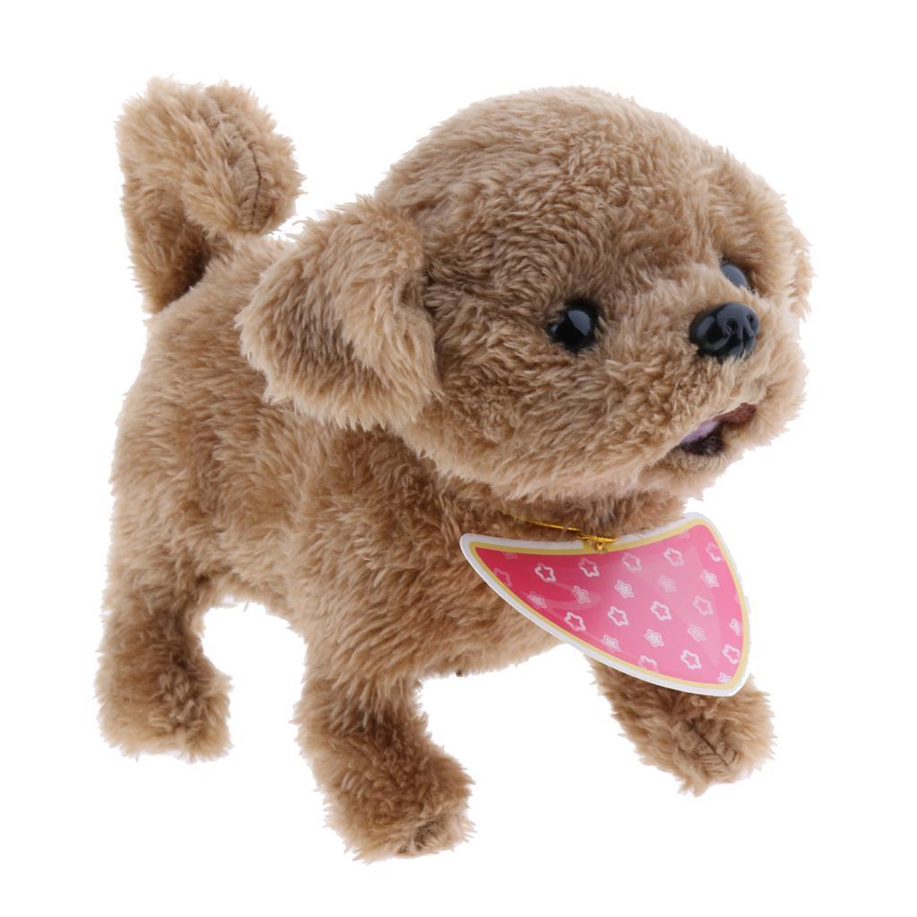 PLUSH WALKING BARK WAG TAIL DOG PUPPY PET ELECTRONIC ANIMAL TOY ROBOTIC PET GIFT