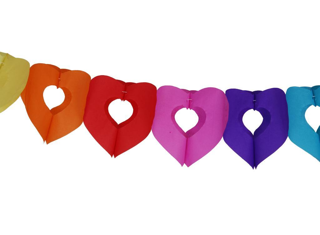 Rainbow Garland Bunting Banner Christmas Party Home Decorative Hanging Crafts