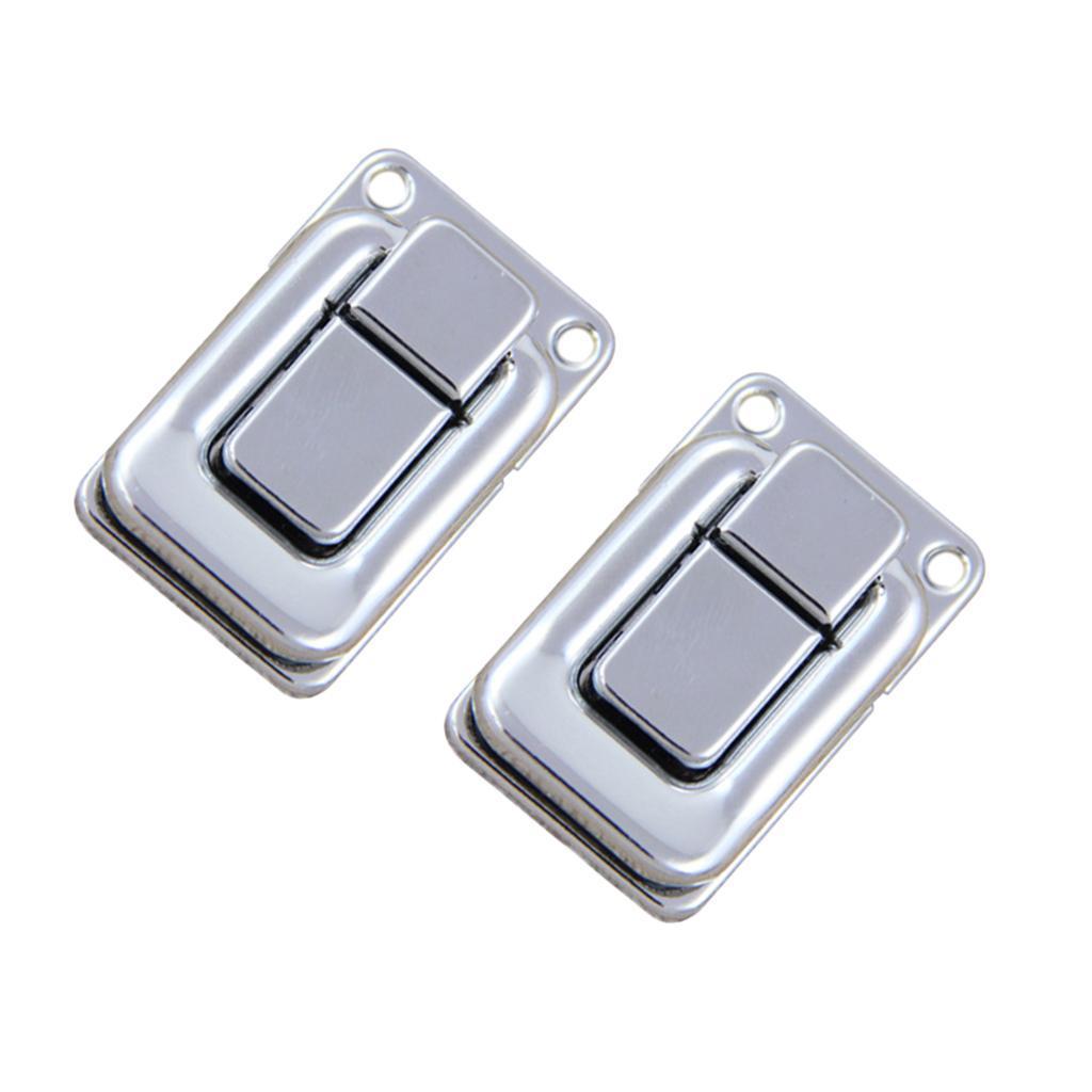 2 Stück Edelstahl Spannverschluss Kistenverschluss Hebel Verschluss