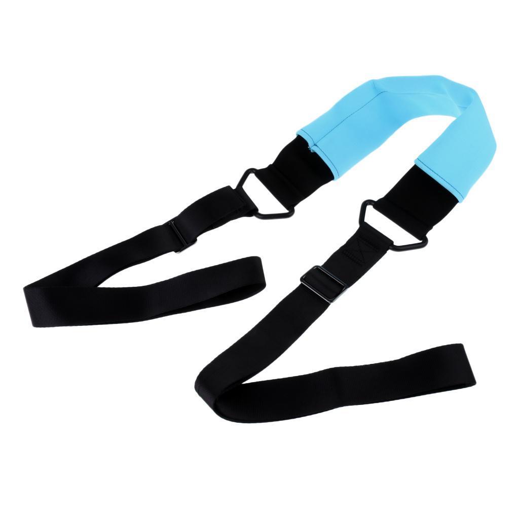Adjustable Yoga Training Bands Practice Dance Training Stretch Belt Leg Belt