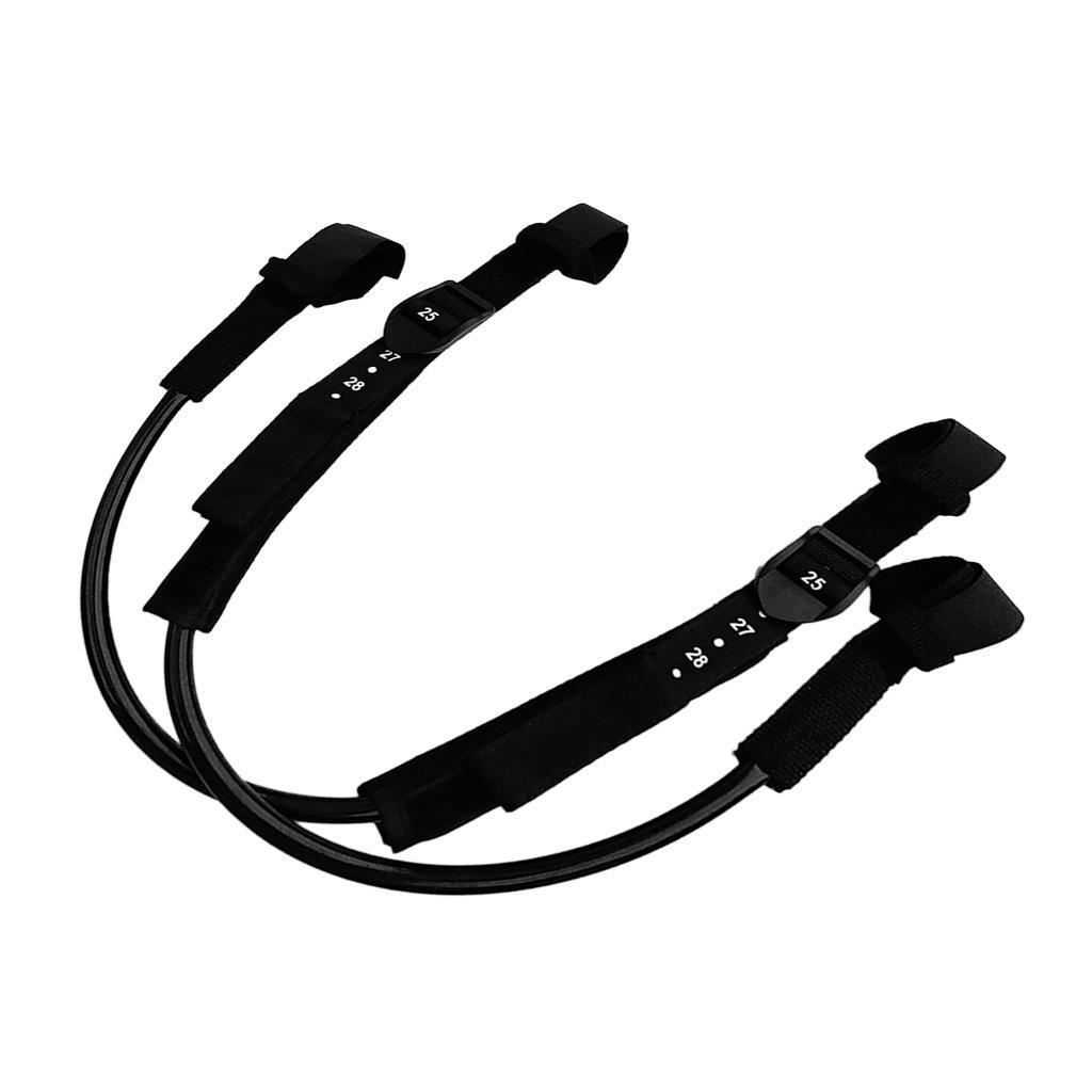 Set 2 Unisex Adjustable Windsurfing Harness Line for Windsurf Water Sports
