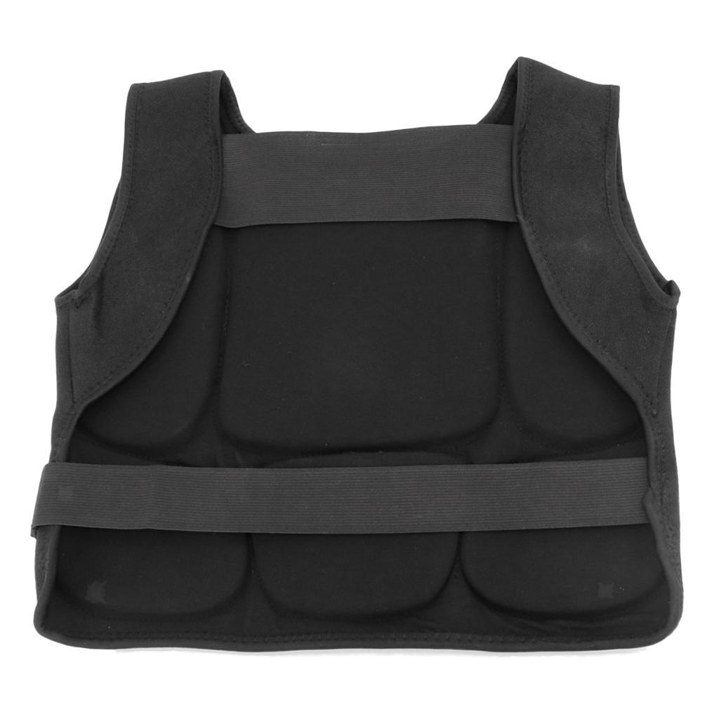 Unisex Kids Adult Chest Protector Guard Sanda Boxing Sparring Armour Shield