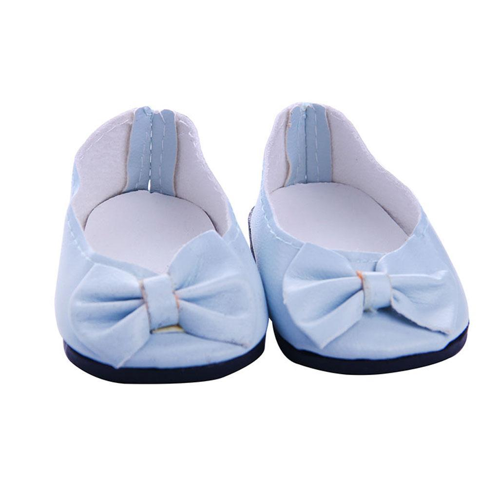 Fashion Doll Shoes Clothes for 18/'/' American Doll Doll  Dress Accs