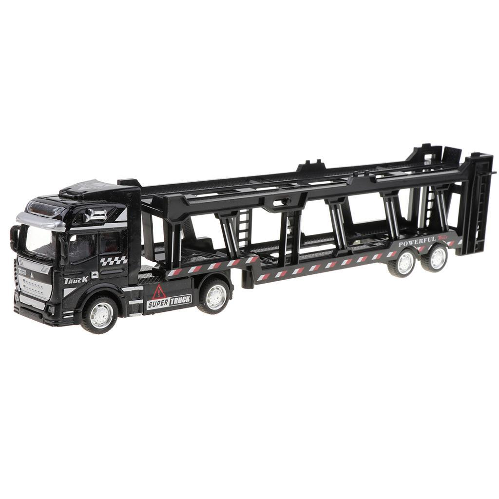 Jantes en Alliage 1//50 friction powered Transport Camion Tirez voiture enfants jouet cadeau