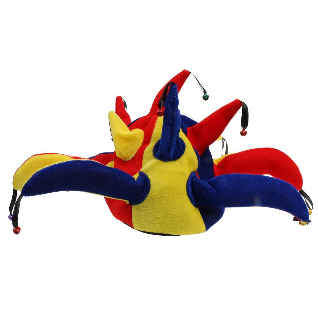 Funny Adult Kid Sea Animal Pizza Jester Plush Fancy Dress Costume Party Hat Gift