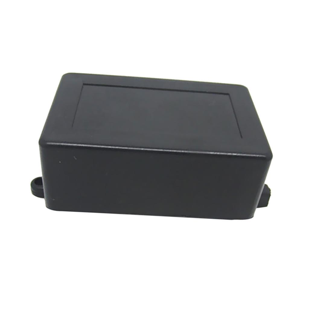 Black ABS Plastic Enclosure Small Project Box For Electronic Circuits