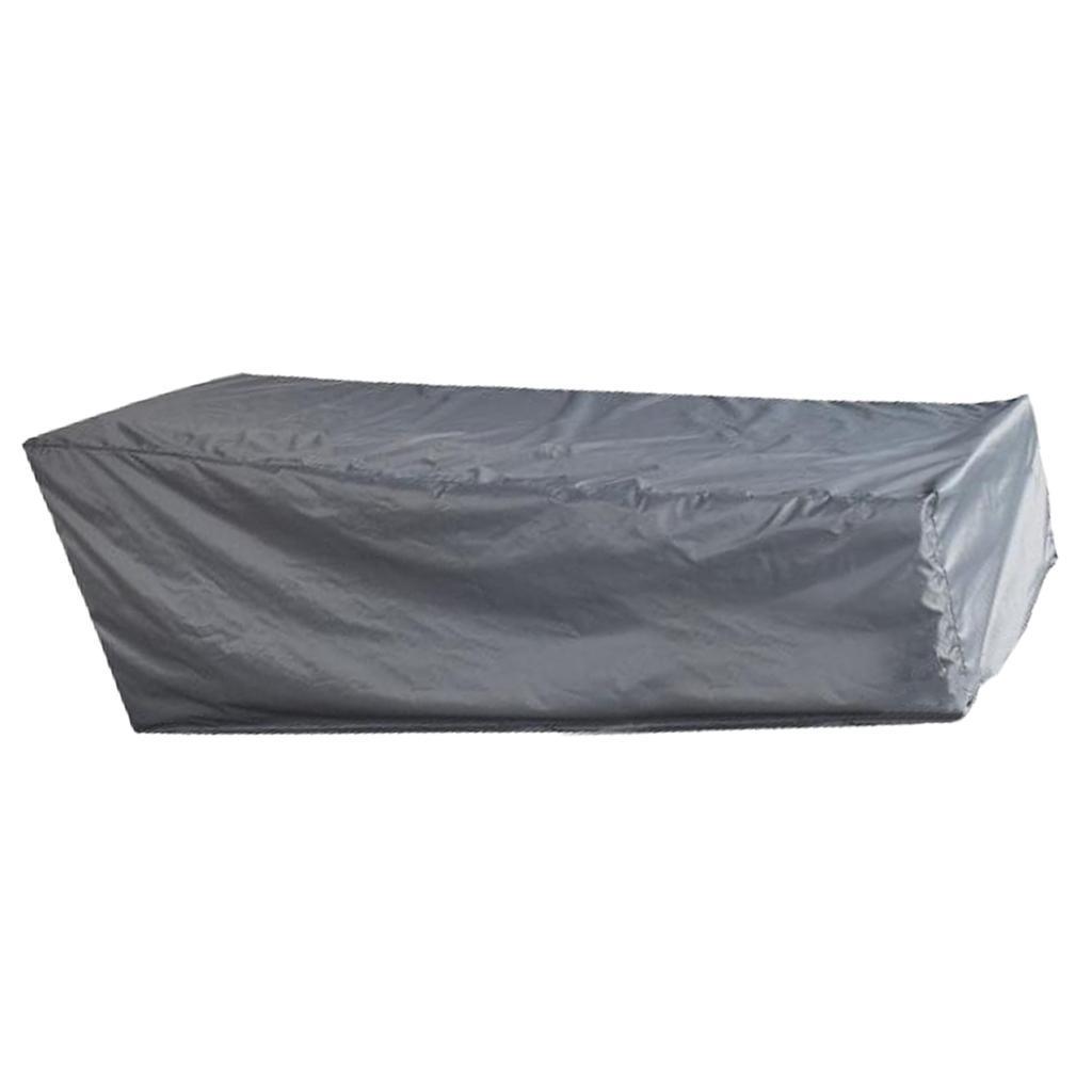 Furniture Cover Patio Garden Lounger Sunbed Outdoor Waterproof Heavy Duty