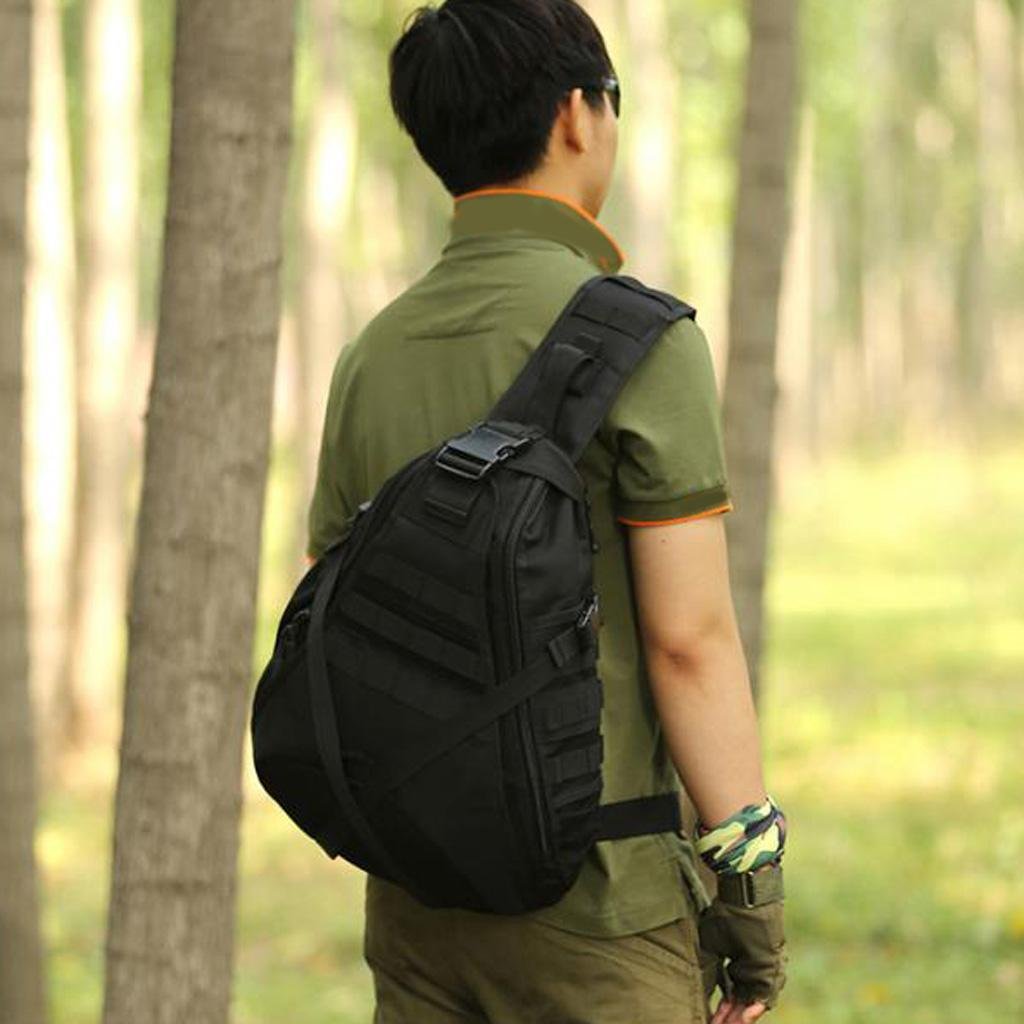 Taktische Umhängetasche Schultertasche Camping Wandern Crossbody Bag Rucksack