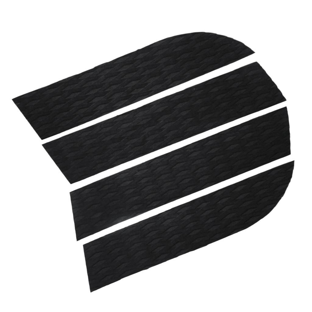 4pcs SUP Paddle Board Traction Pad Antirutsch Surfboard Footpad Deck Grip Pad