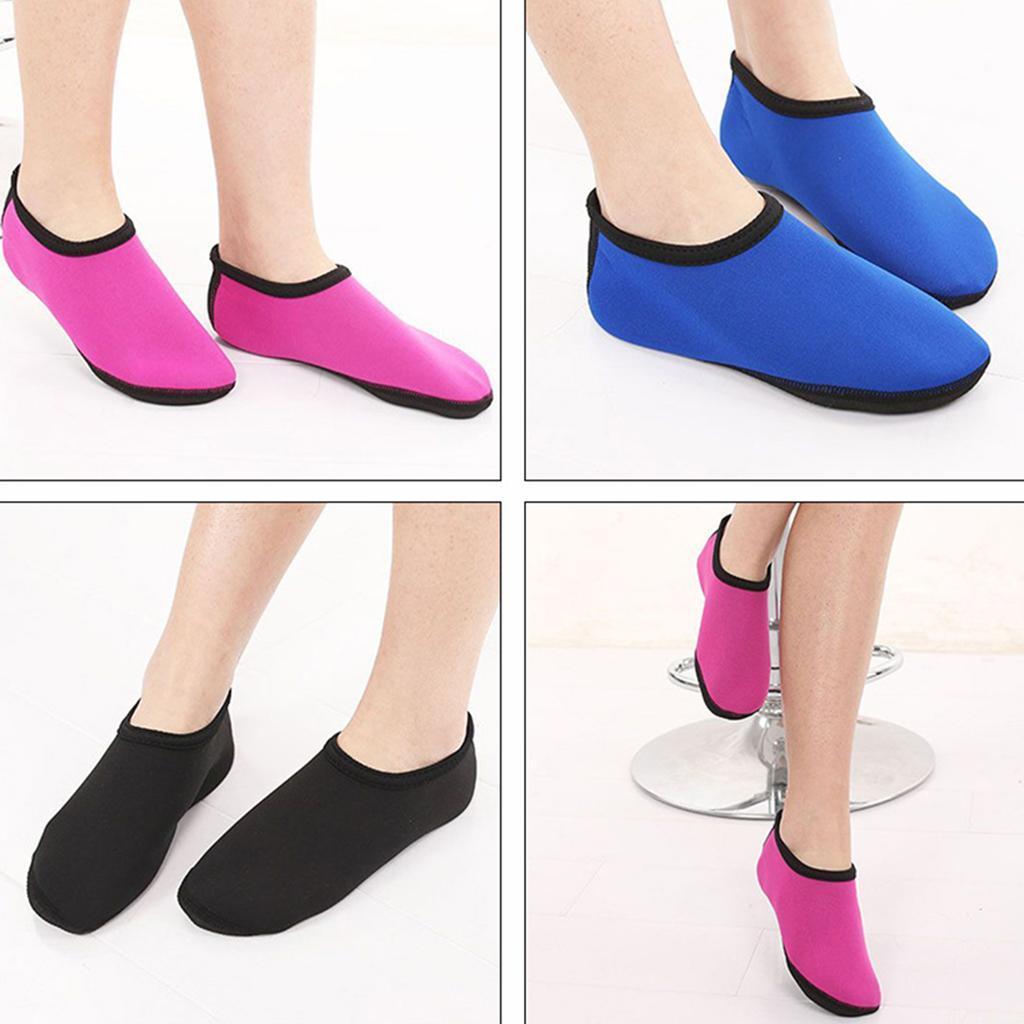 Neoprene Water Socks for Women Men Kids Beach Barefoot Anti-Slip for Shoes