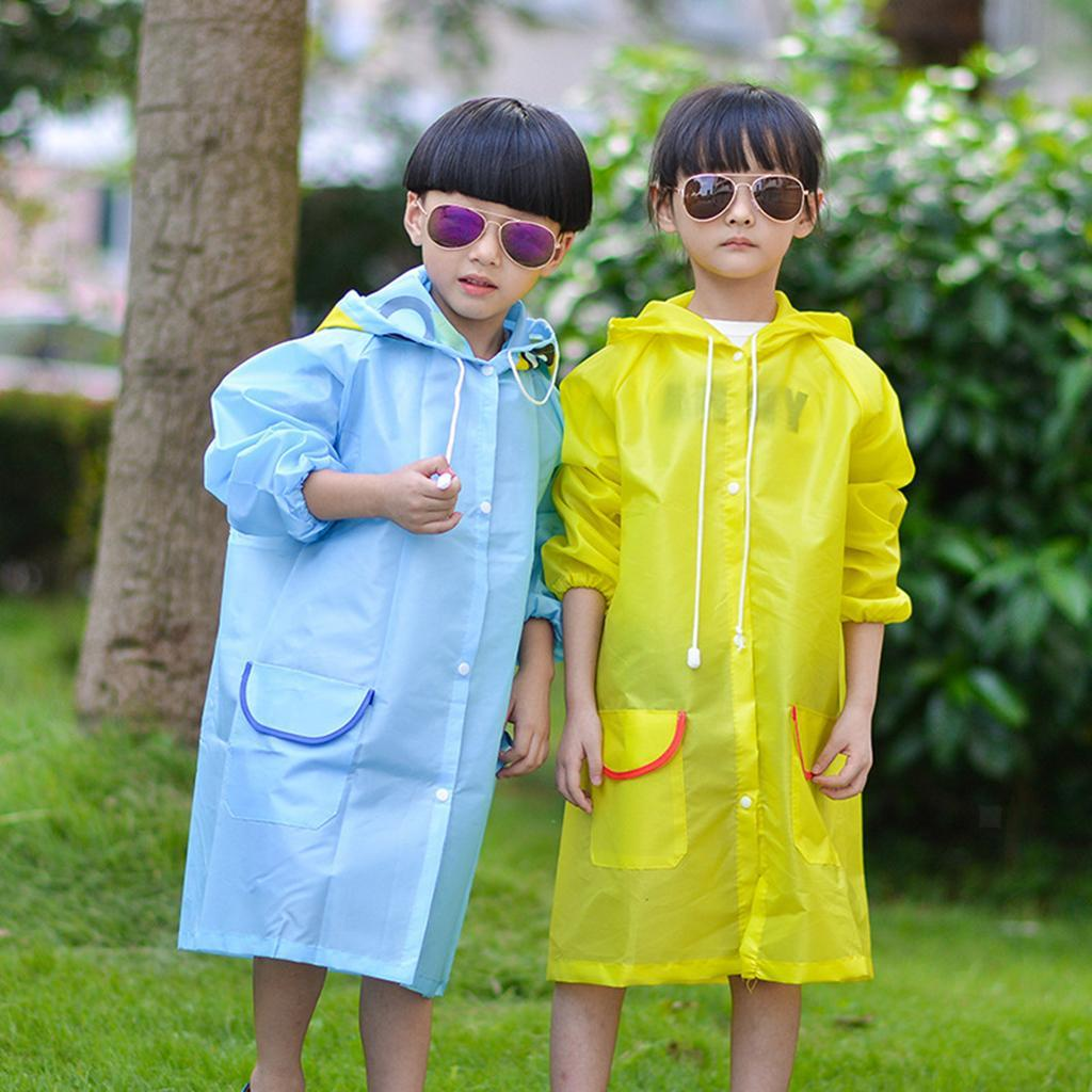 Raincoat Autumn Spring Hooded Waterproof Raincoat Casual Outwear Kids Clothes