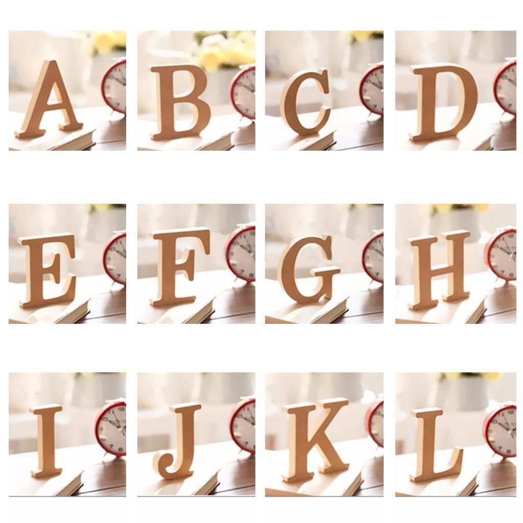 Lettere In Legno Alfabeti Pezzi Di Artigianato Per Decorazioni Di Nozze Fai