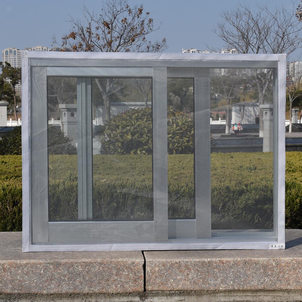 Insect Mosquito Net Fly Screen Window Mesh Net Handsfree Adhesive Door Snap