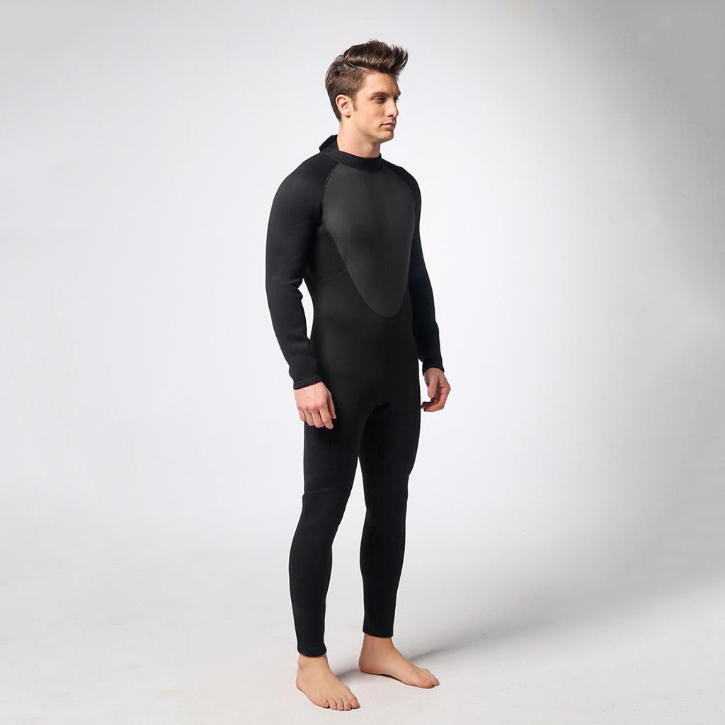 Herren Neopren 3 mm Taucheranzug Full Wetsuit für alle Wassersportarten XXL