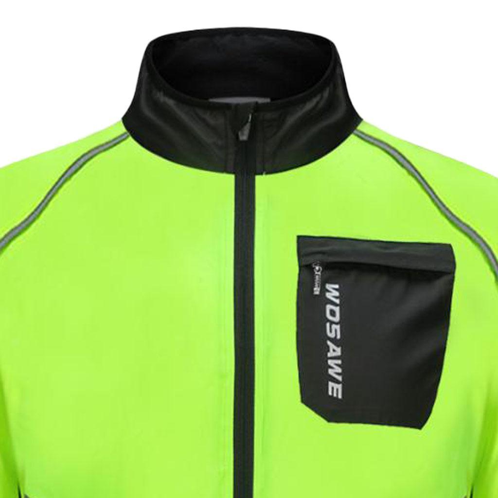 Unisex Cycling Long Sleeve Jacket Road Bike Bicycle Tops SportsWear Clothing