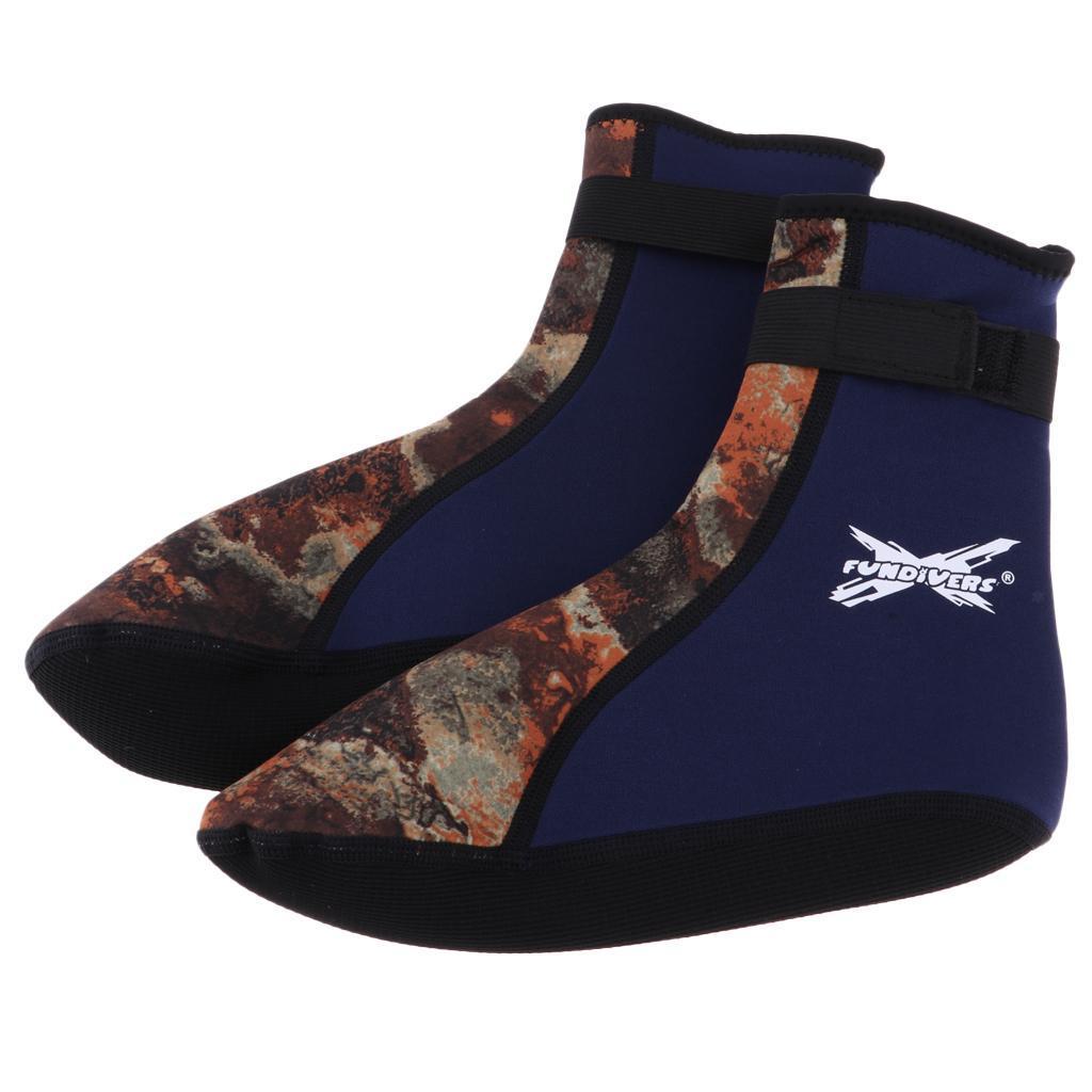 Unisex Beach Shoes Diving Swimming Booties Water Sports Neoprene Socks 3mm