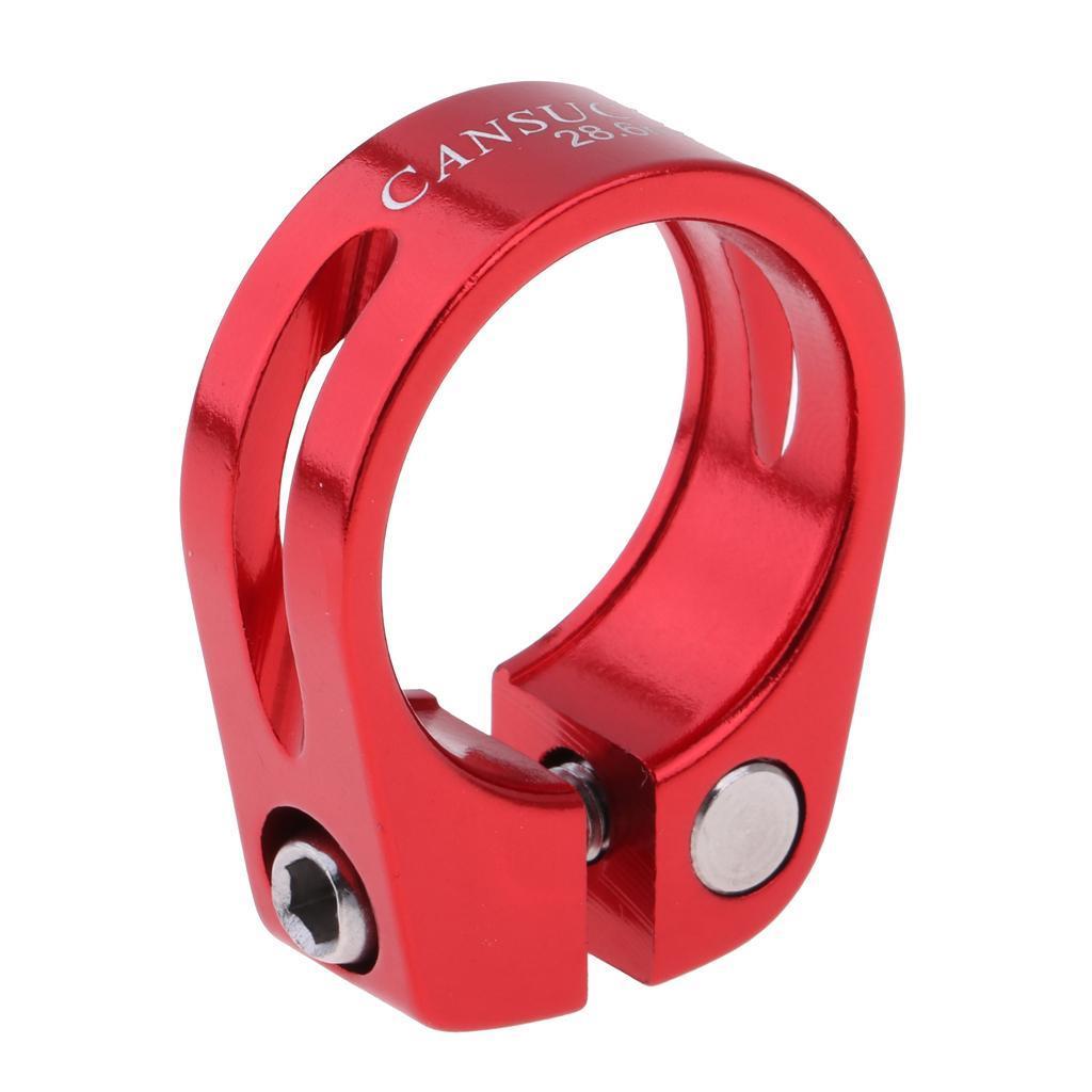 30mm Fahrrad Sattelklemme Sattelstütze Clip für Aluminiumlegierung 28,6