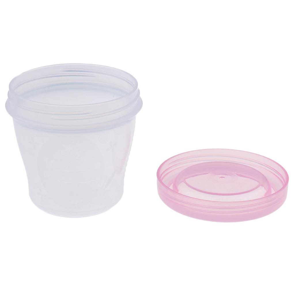Breast Milk Bags Baby Food Storage Containers Mini Freezer Cups Reusable
