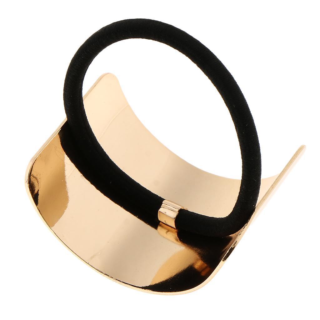 Haargummi Metall Haarband Zopfband Zopfgummi Pferdeschwanz Halter für
