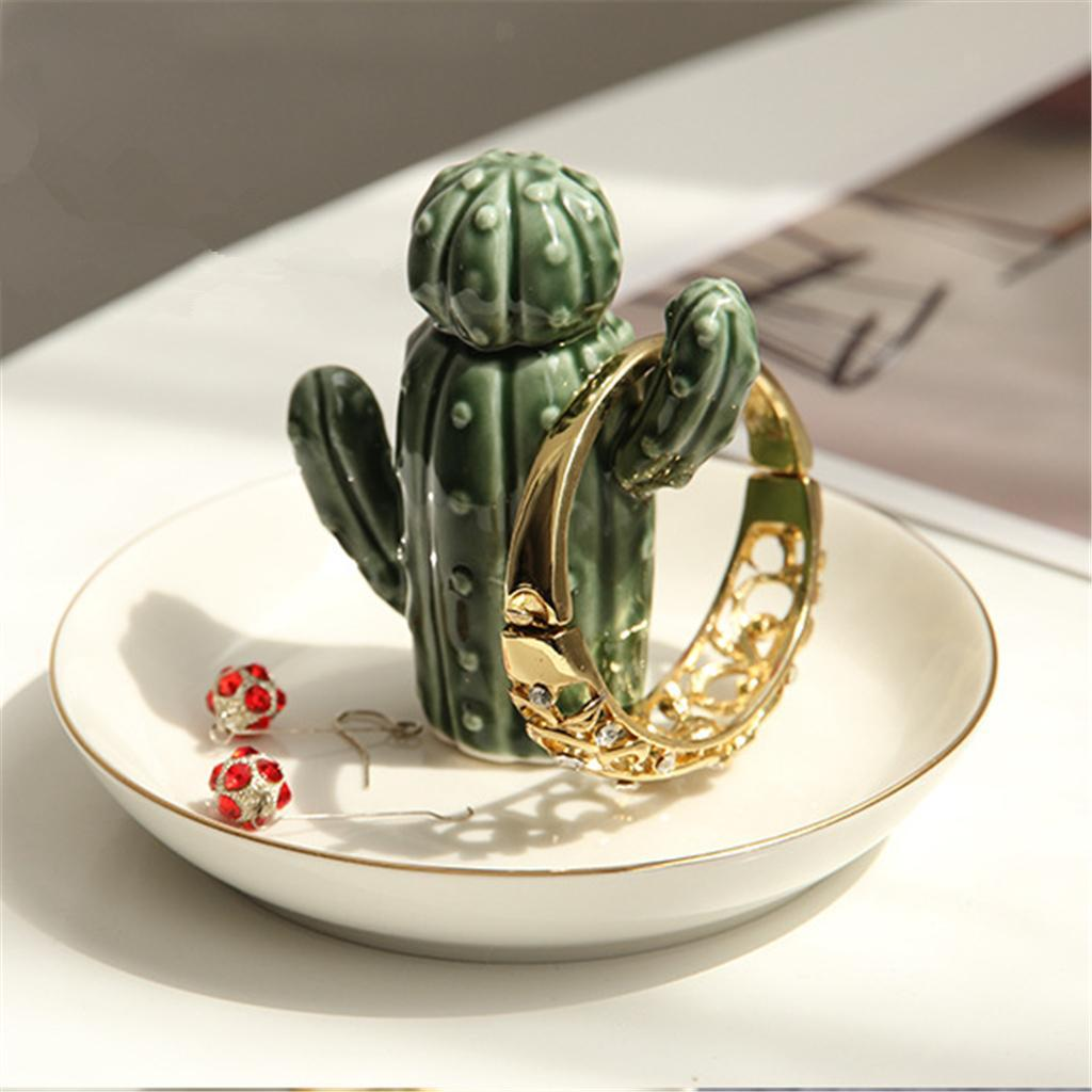 Animal Plant Jewelry Ring Earring Holder Organizer Stand Home Collection Decor