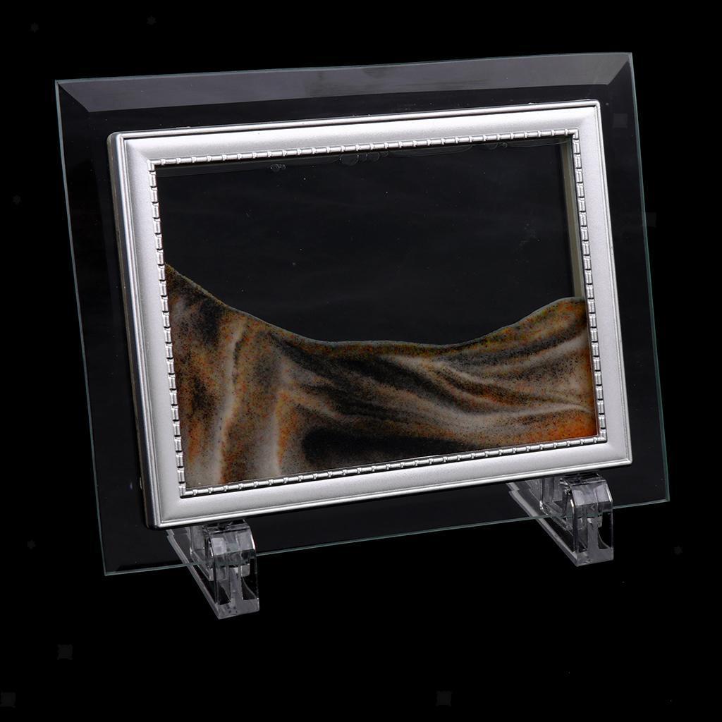 5/'/' Dynamisch 3D Natürliche Landschaft Fließendes Sand Bild Kunst Bewegend
