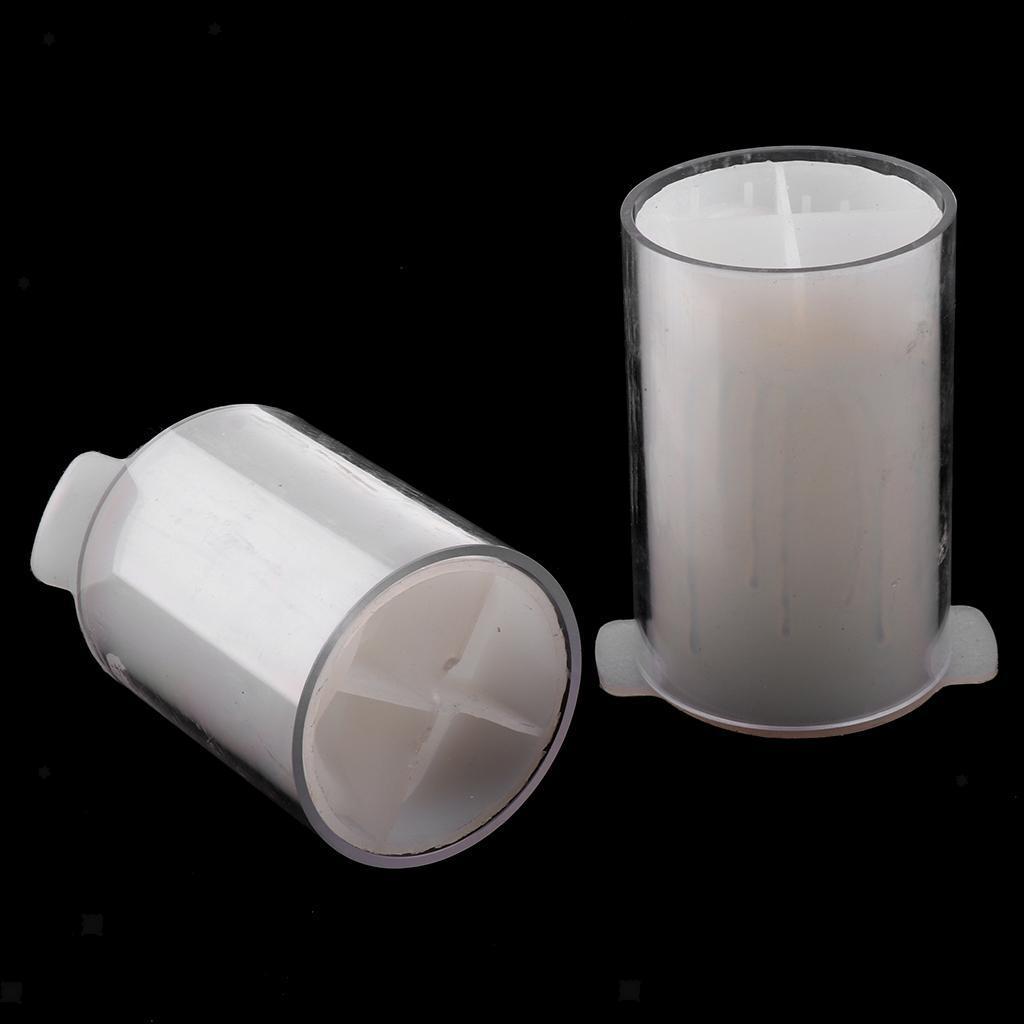 Kunststoff Zylinder Kerze Schimmel LED Kerzengießformen Gießform für