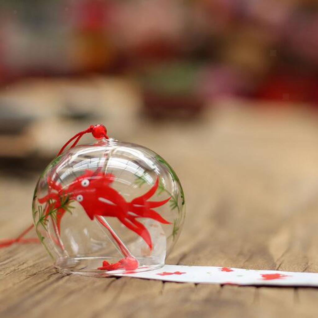 Geschenk zu Geburtstag, Glas Japanisches Furin Windspiel Glockenspiele