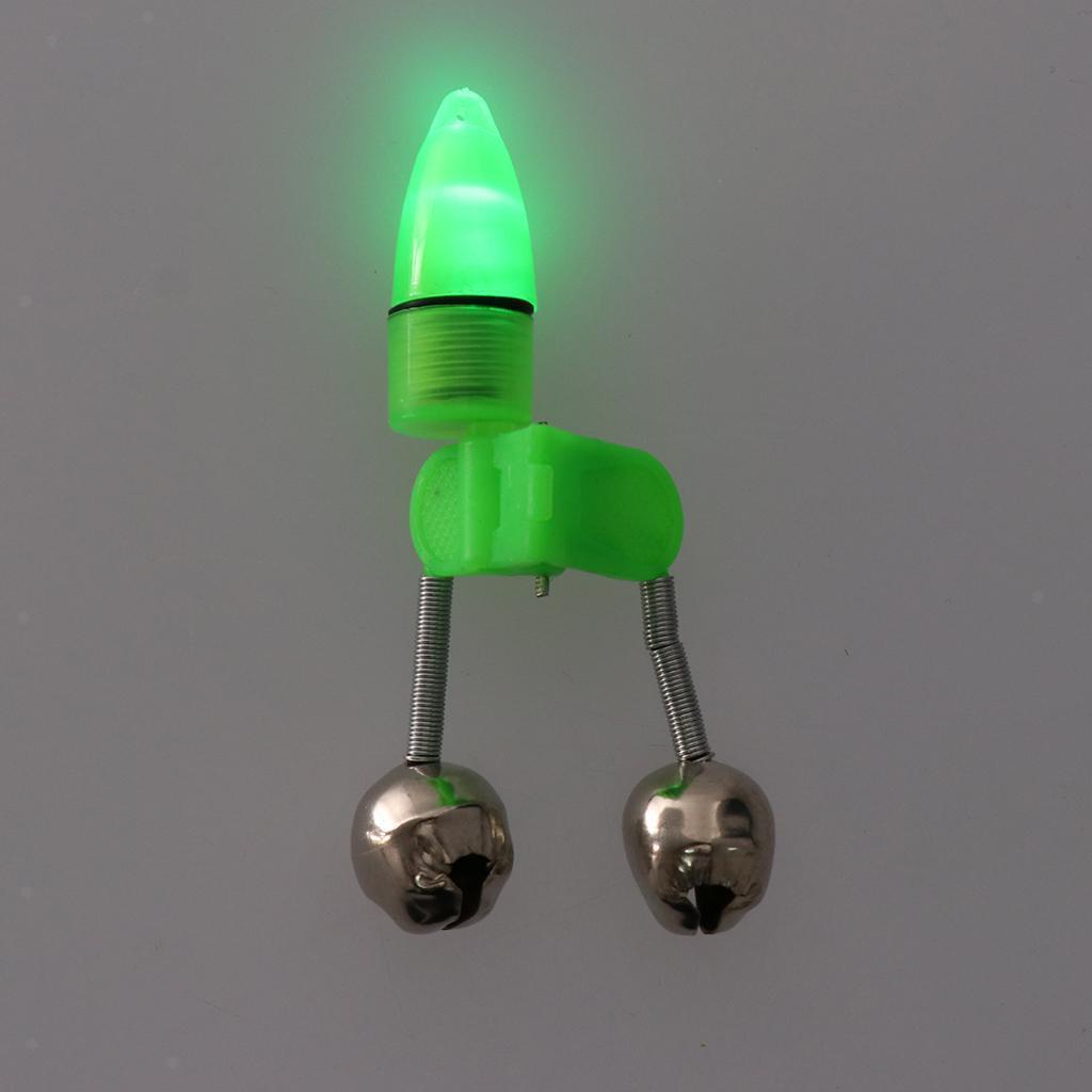 10 Stücke LED-Doppelglocken-Nachtfischen-Rod-LED-heller