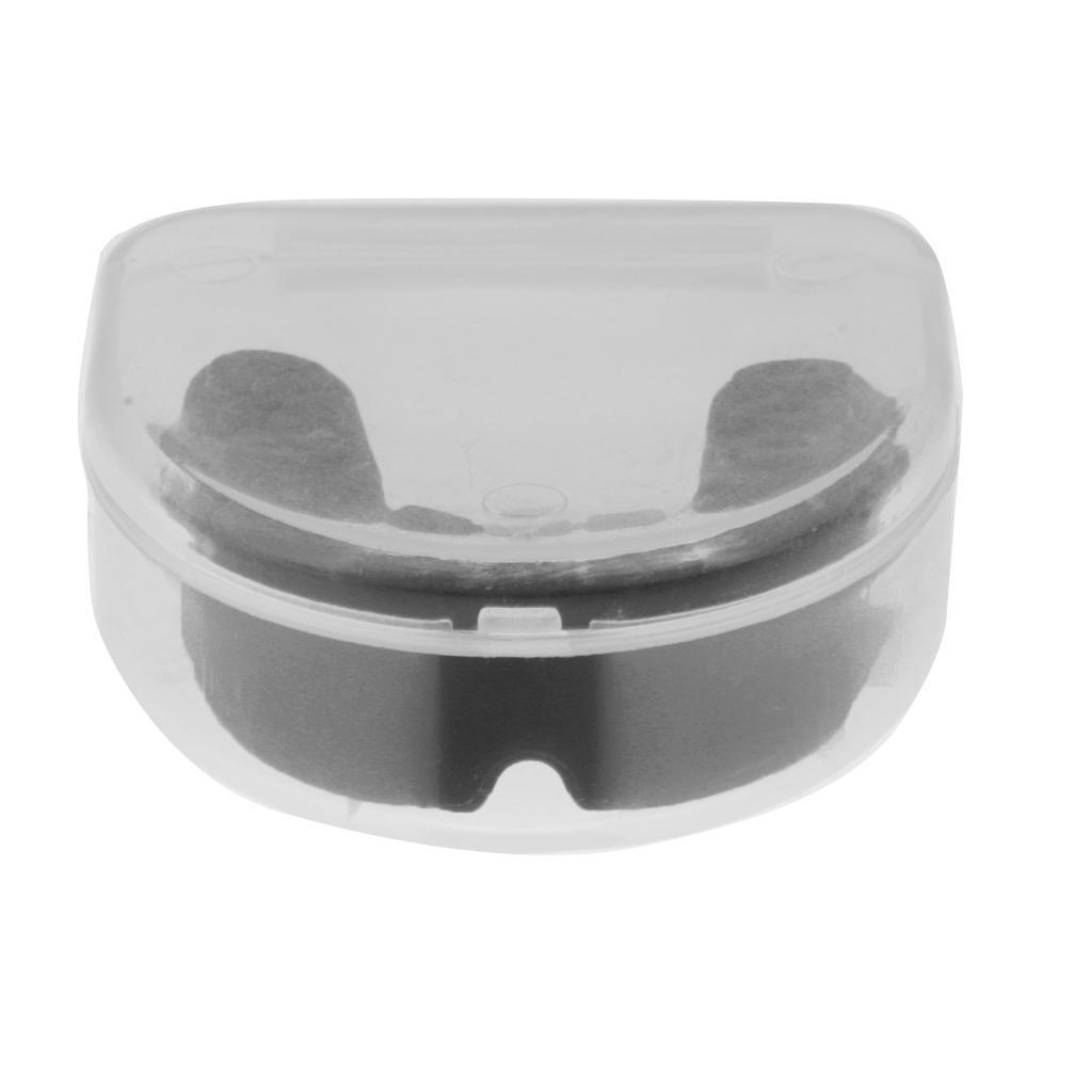 EVA Gum Shield Mouth Guard Mouthguard Boxing Rugby Teeth Protection Case