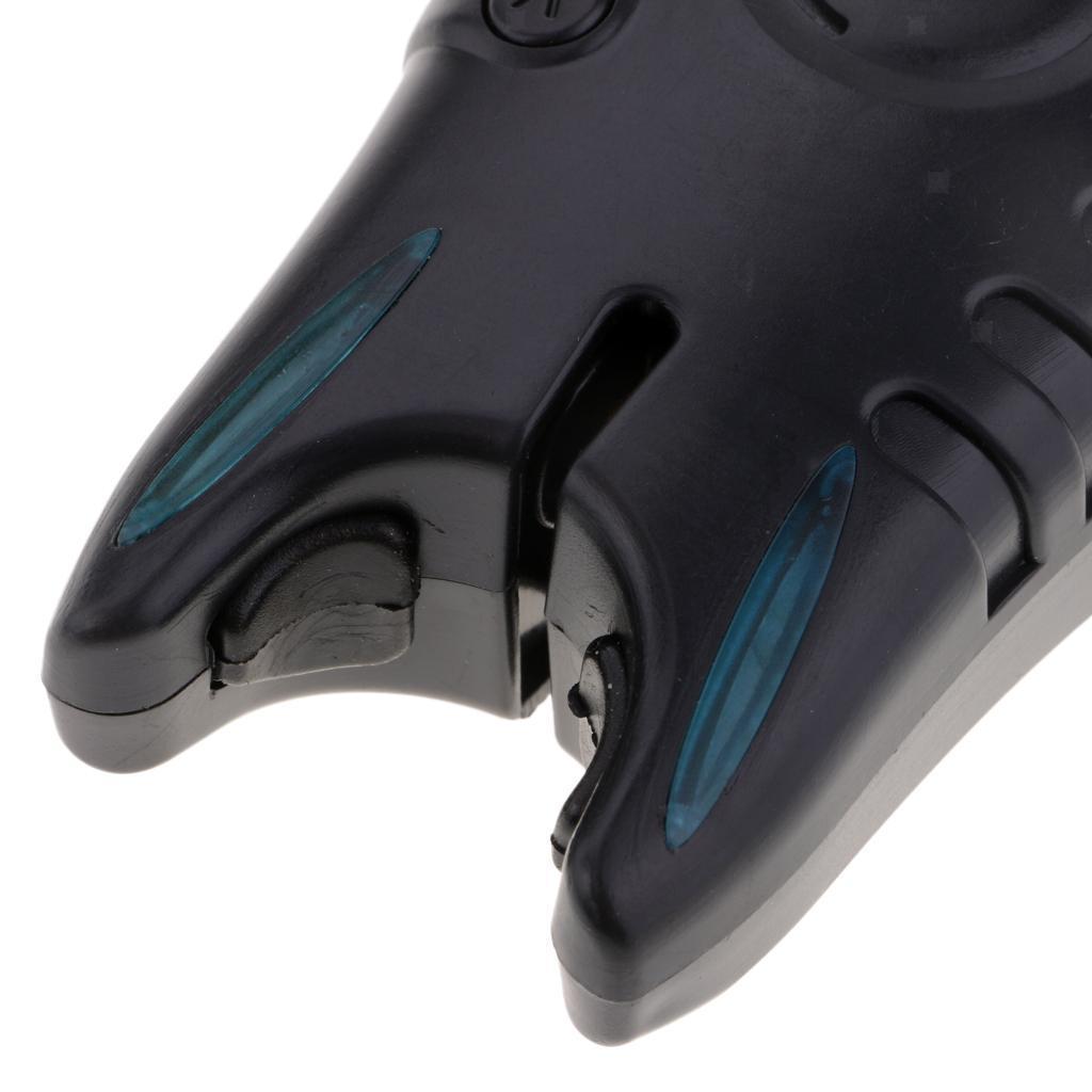 JY 56 Elektronische LED Licht Fisch Biss Ton Alarm Glocke für Angelrute