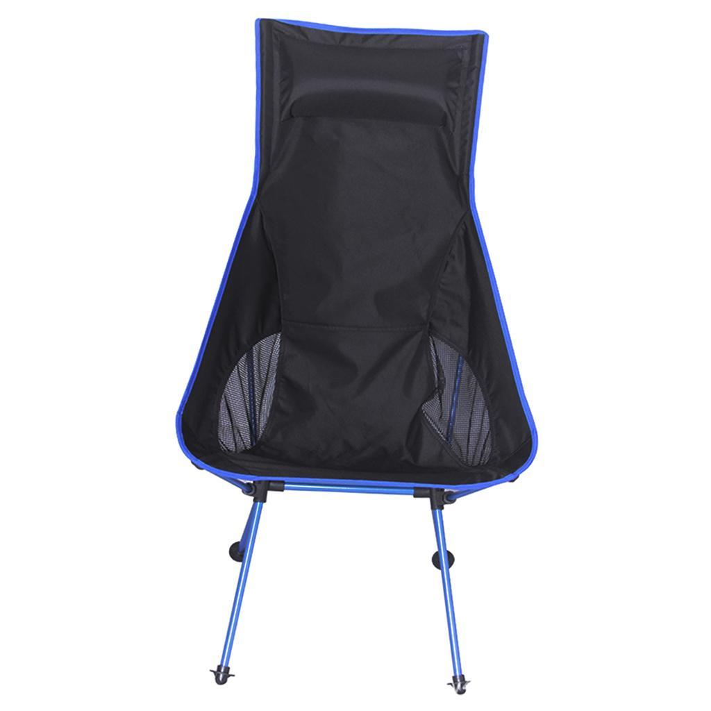 Portable Lightweight Folding Camping Fishing Chair Backpacking Picnic Outdoor