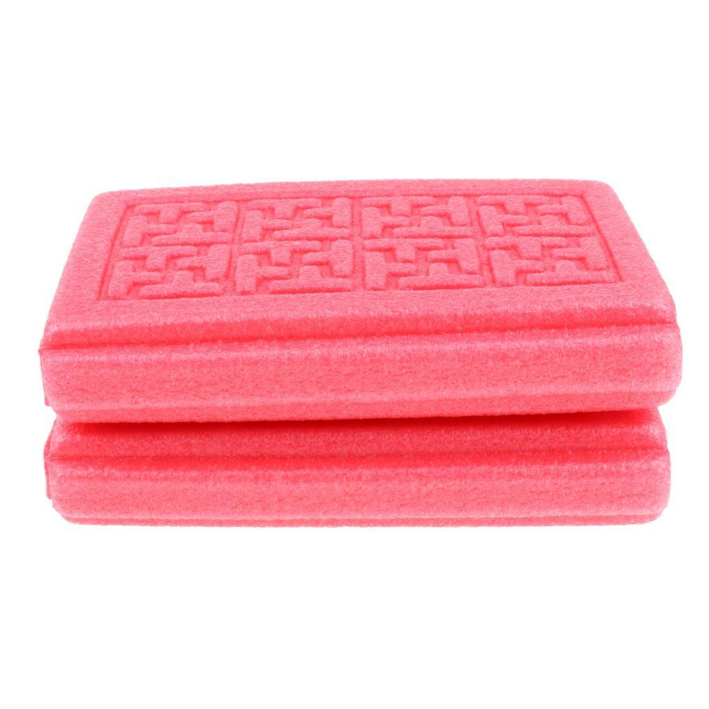 Collapsible Foldable Seat Cushion Thickened Foam Mat Camping Waterproof Pad