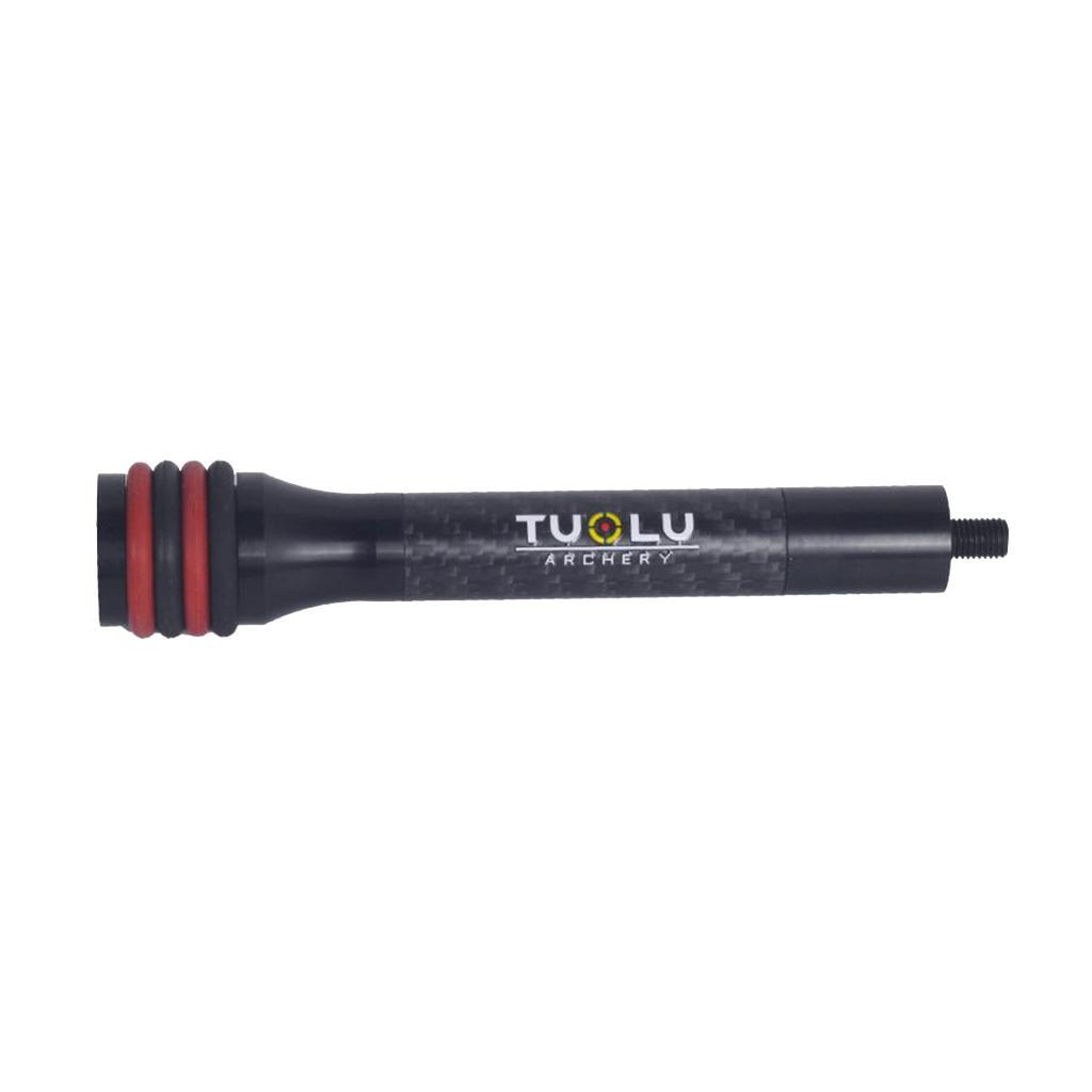 """6/""""//8/"""" Archery Compound Bow Stabilizer Shock Absorber for Hunting Shooting"""