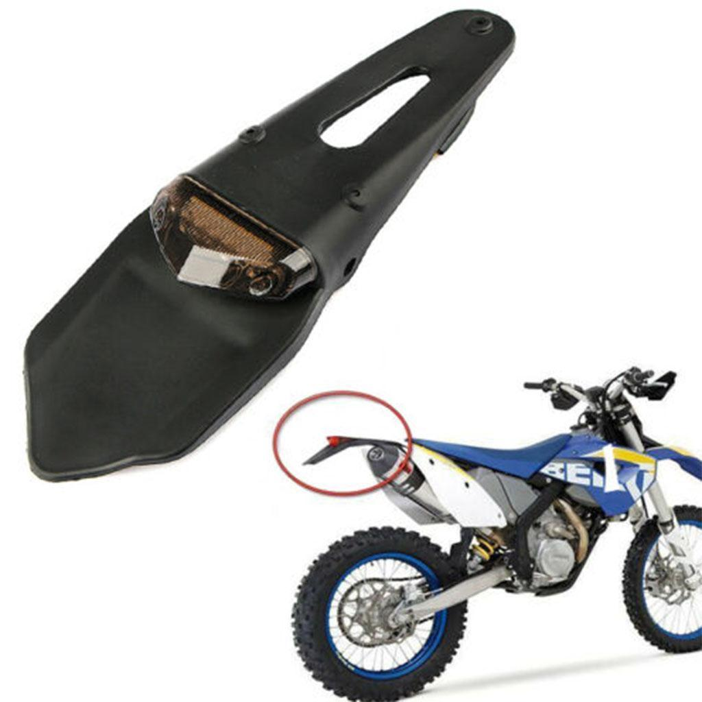Motorcycle Dirt Bike light LED Rear Fender Brake Tail Light